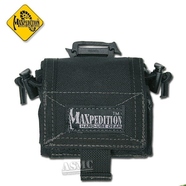 Bolsa para cinturón Mega Rollypoly negra