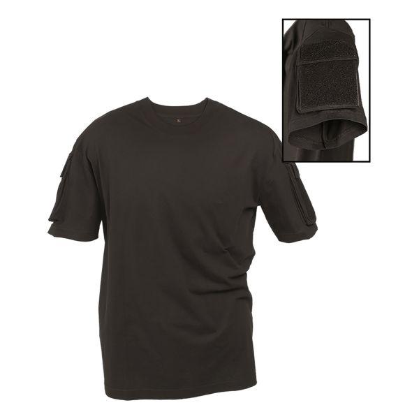 Camiseta Mil-Tec Tactical negra