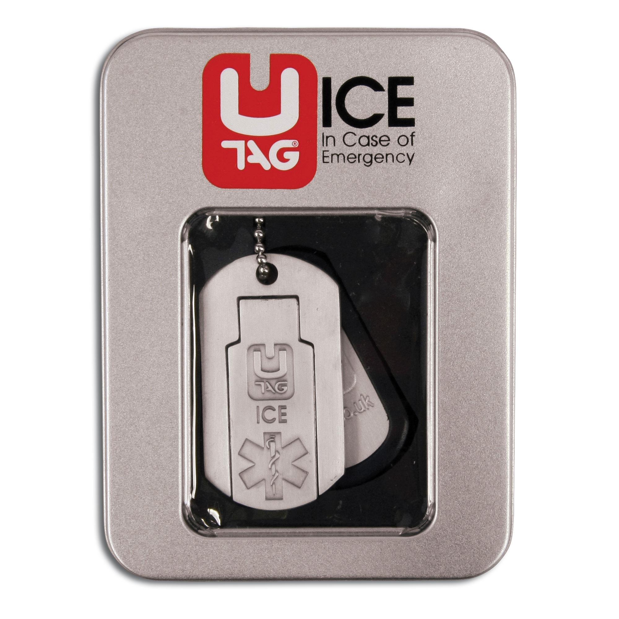 UTAG USB Chapas de identificación