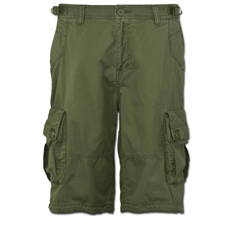Shorts Vintage Terrance verde oliva