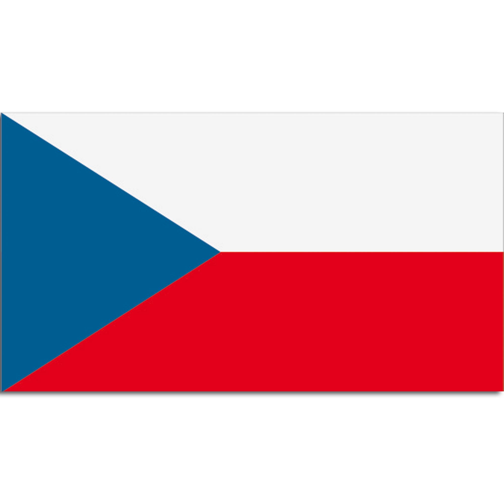 Bandera de la Rca. Checa