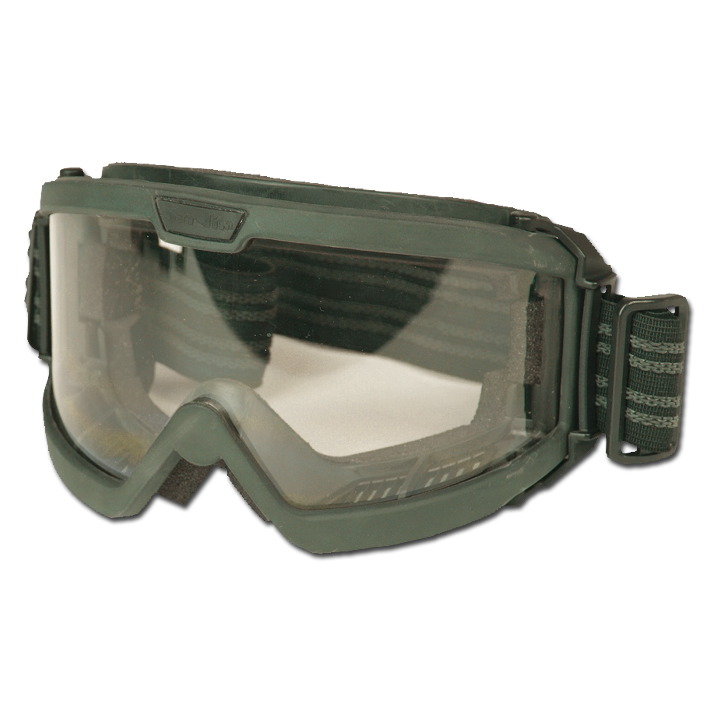 Gafas tácticas Mil-Tec ANSI EN 166 verde oliva