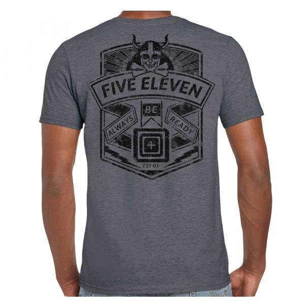 5.11 Camiseta Viking Crest charcoal heather