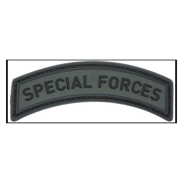 Parche - 3D Special Forces Tab battlegrey