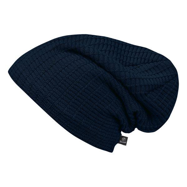 Gorra Brandit Beanie John azul oscuro
