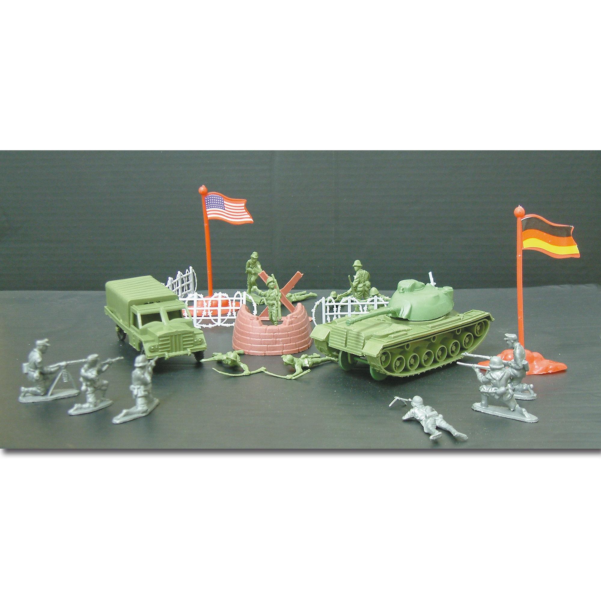 Set de juguetes de soldados