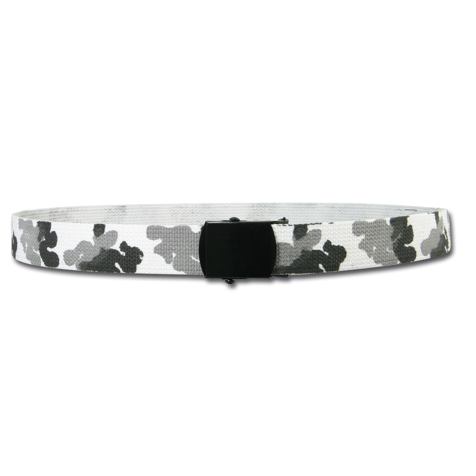Cinturón urban-camo/blanco