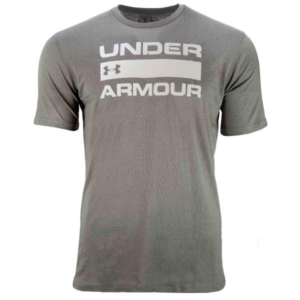 Camiseta Under Armour Team Issue Wordmark SS gravity green