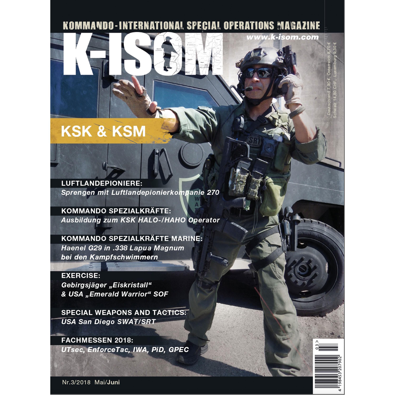 Revista Kommando K-ISOM edición 03-2018