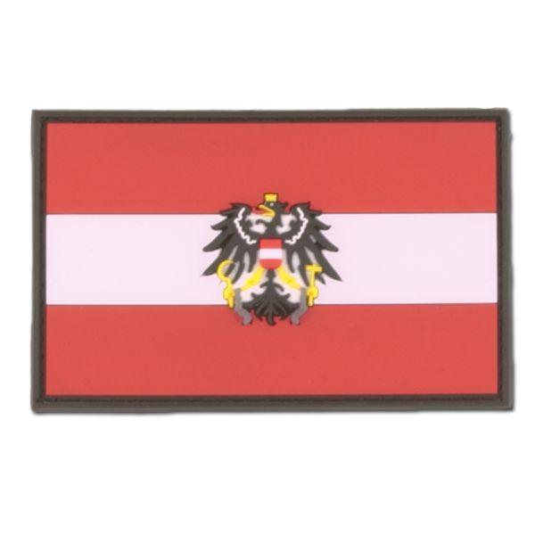Parche 3D Austria con escudo