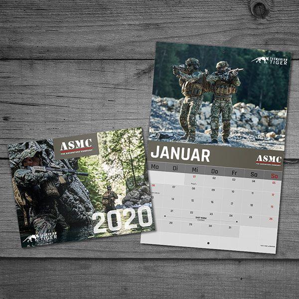Tasmanian Tiger calendario de imágenes 2020