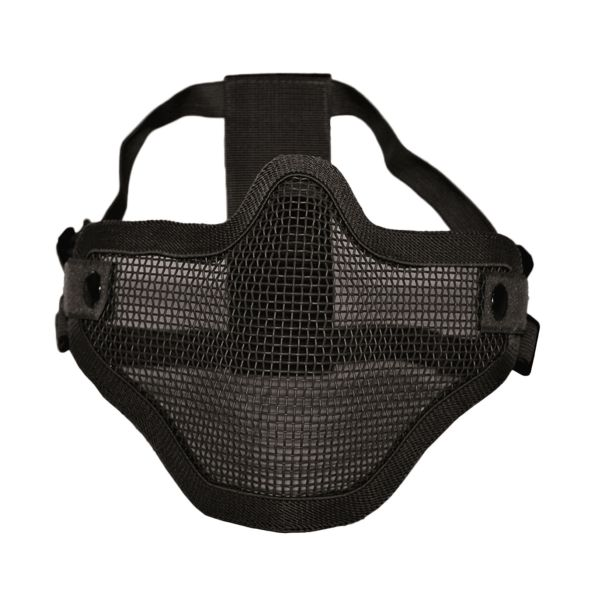 Máscara de protección Airsoft SM negra