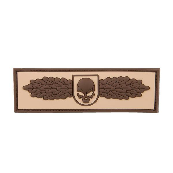 Parche 3D SOF Skull Badge desert