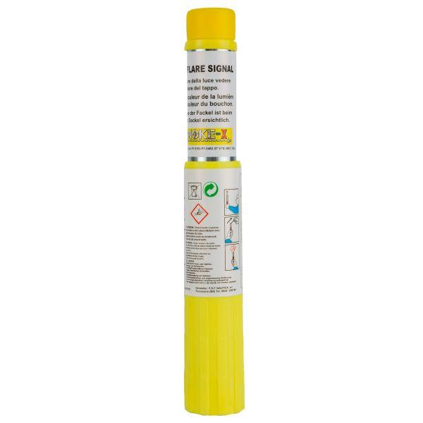 Smoke-X granada de humo SX-13 antorcha pirotécnica amarilla