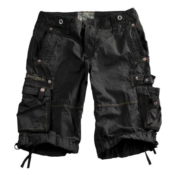 Alpha Industries Shorts Terminal negros