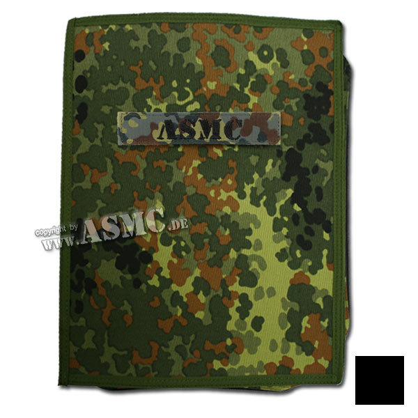 Organizador MMB Commando Notebook A4 flecktarn