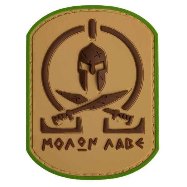 Parche TAP Molon Labe Spartan multicam