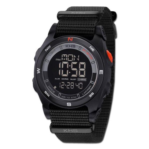 Reloj KHS Sentinel DC OTAN negro