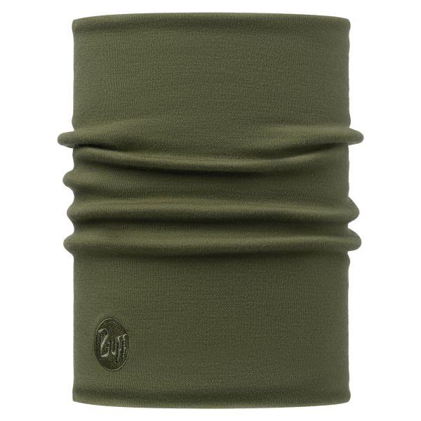 Calentador de cuello Buff Merino thermal verde oliva