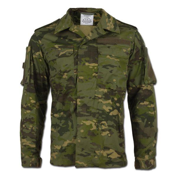 Camisa de combate Leo Köhler multicam tropic