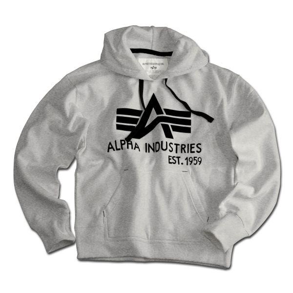 Alpha Industries Sudadera Big A Hoody gris