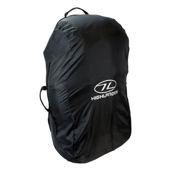 Funda para mochila / bolsas Highlander Combo negro mediano