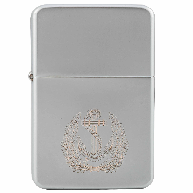 Encendedor de bolsillo Z-Plus Gas con grabado de Marine Kranz