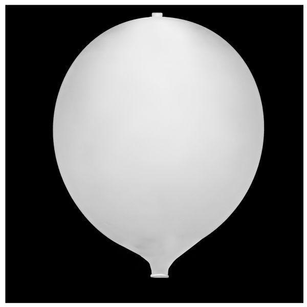 KNIXS Tac Ballon globo blanco LED intermitente blanco