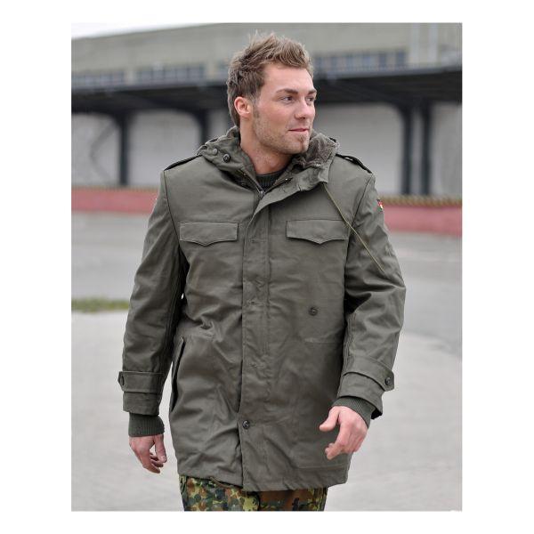 BW chaquetón verde oliva como nuevo