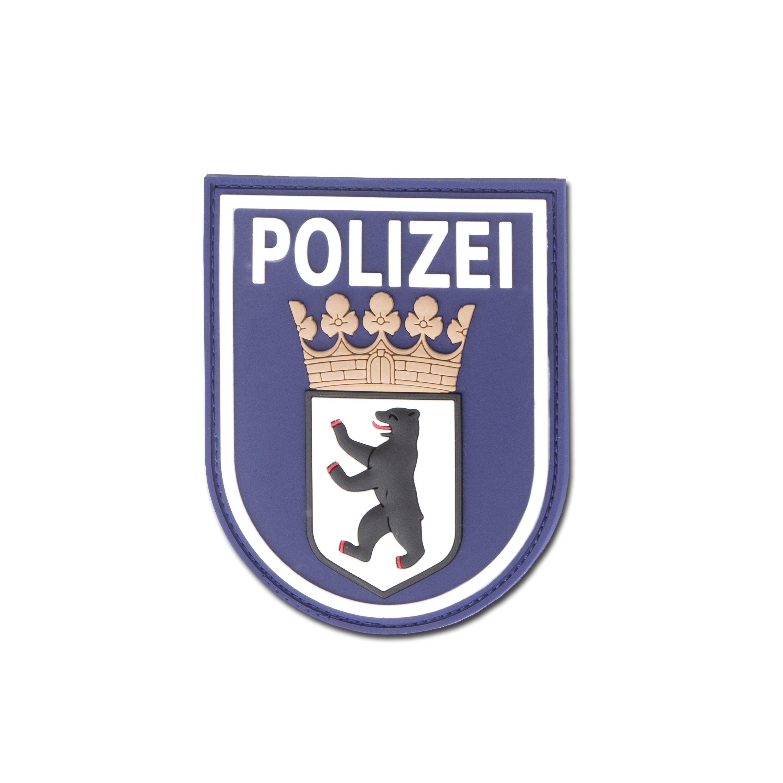 Parche 3D Polizei Berlin azul
