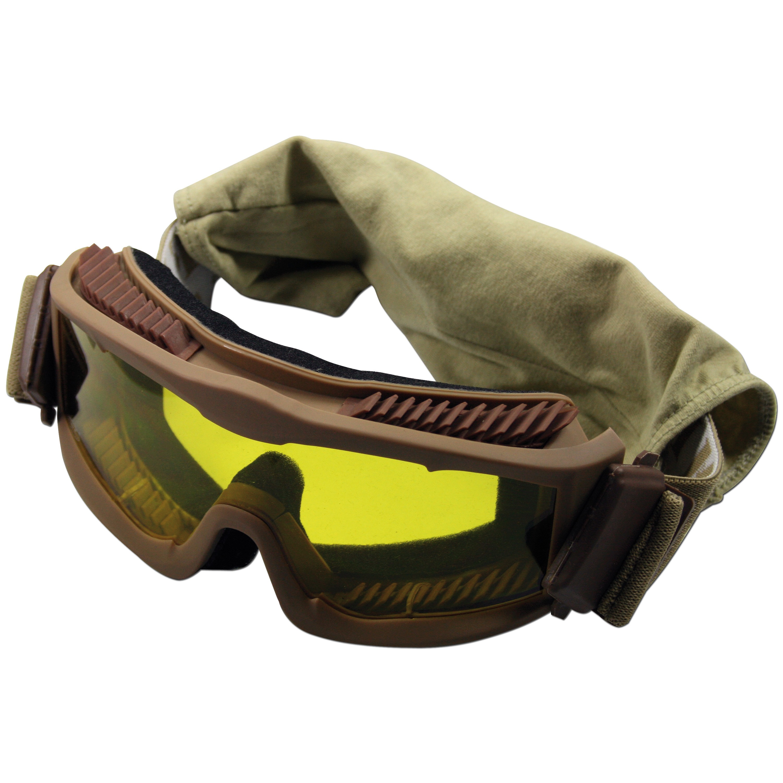 Gafas protectoras Thunder deluxe MFH coyote