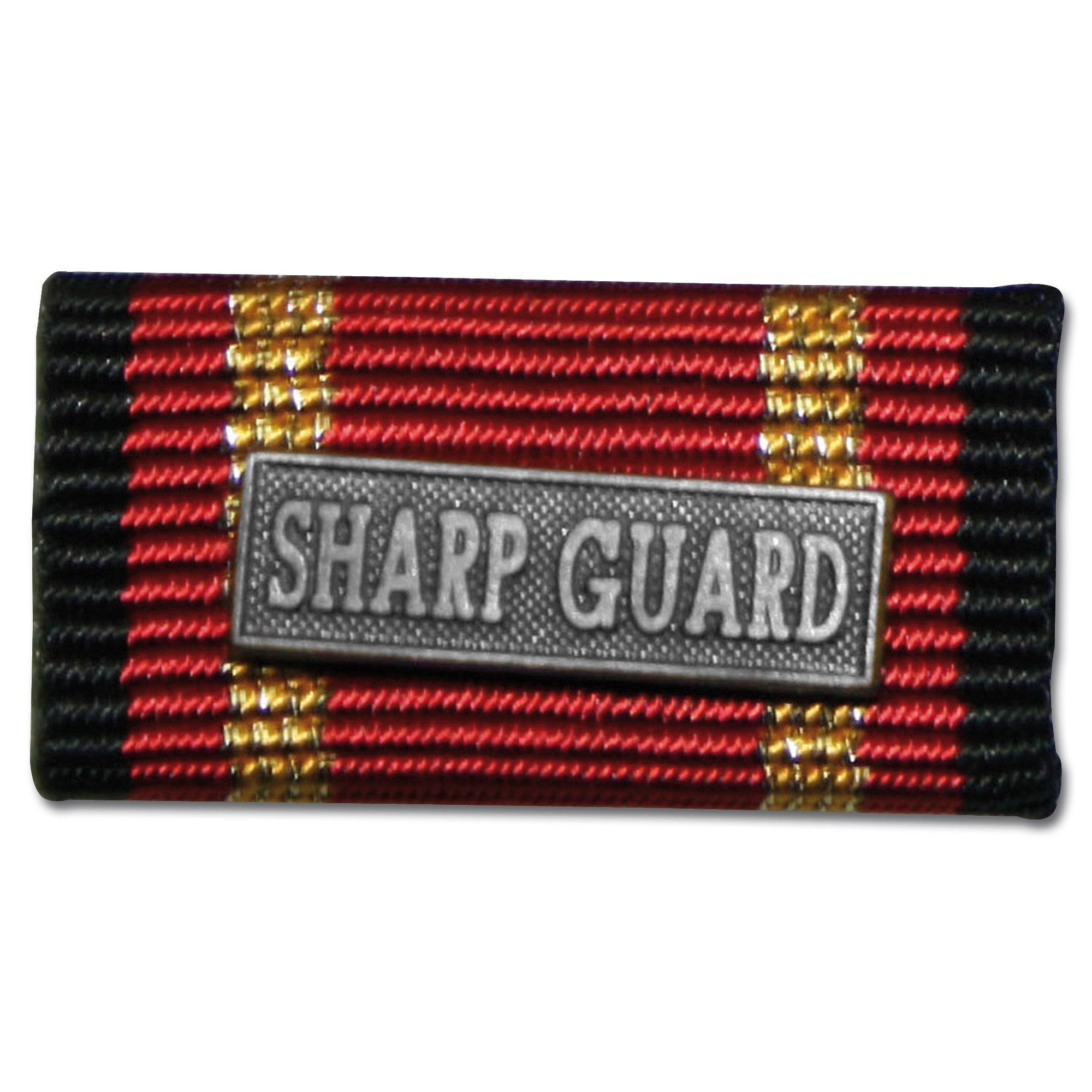 Prendedor pequeño Auslandseinsatz SHARP GUARD silber