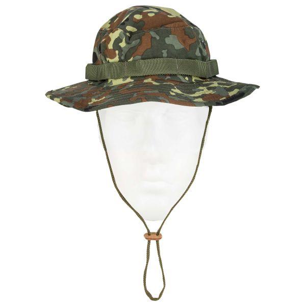 Sombrero Boonie Hat trilaminado flecktarn