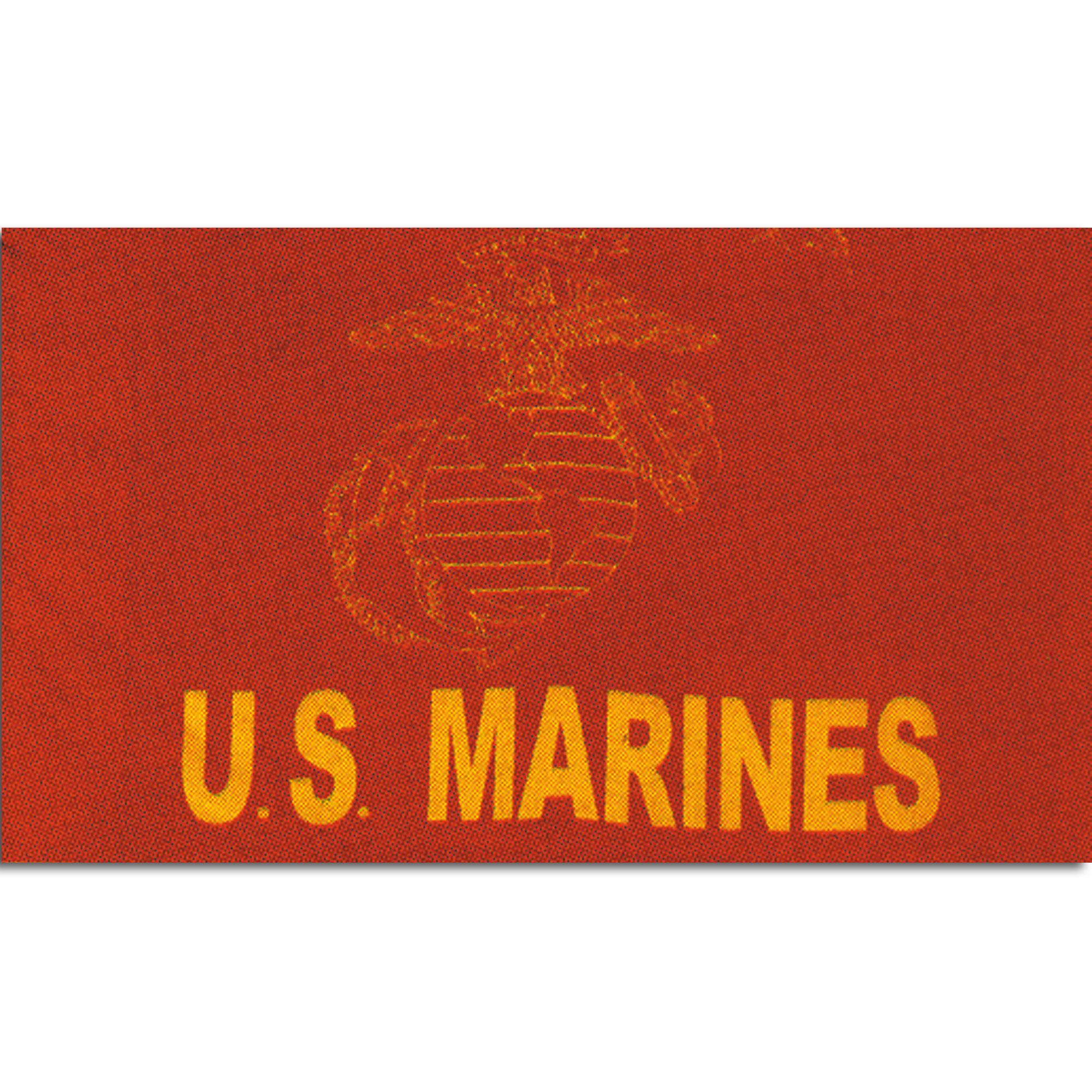 Bandera US Marines roja
