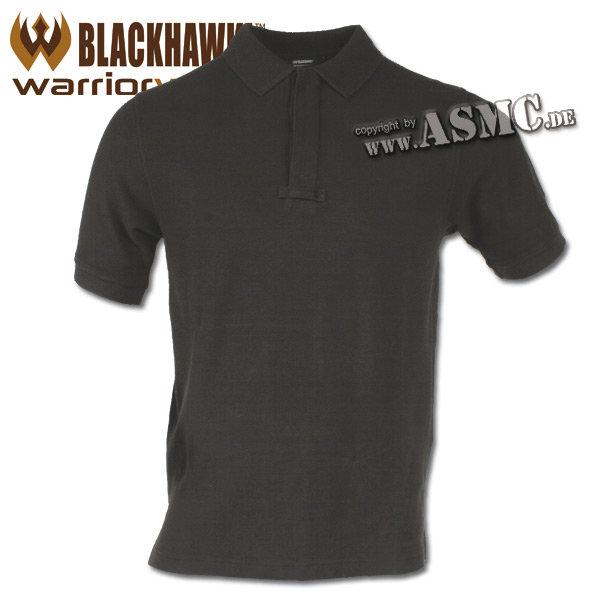Camiseta polo Blackhawk Cotton Polo Shirt negra