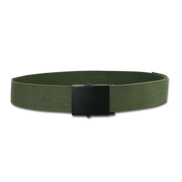 Cinturón ancho para pantalón - verde oliva