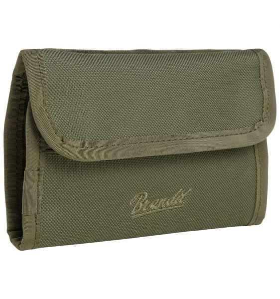 Brandit Billetera Wallet Two verde oliva