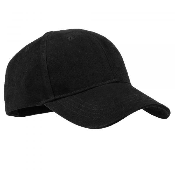 Mil-Tec Gorra de béisbol Sandwich negra