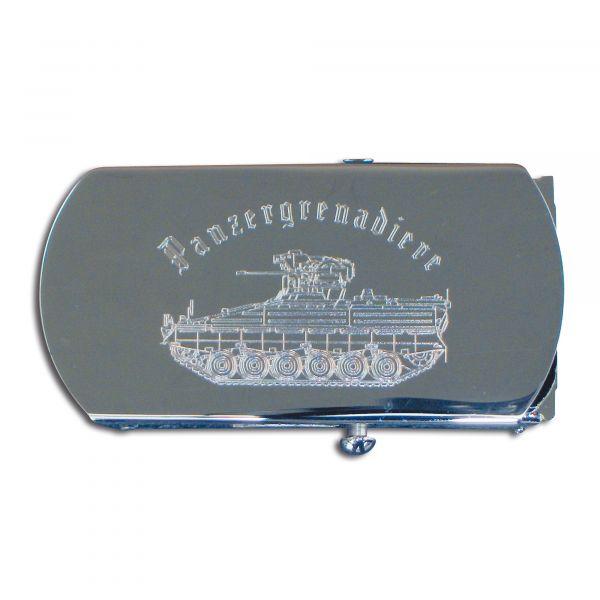 Cinturón con hebilla Panzergranadier