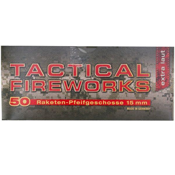 Fuego art. Tactical Fireworks cohete silbido cal. 15 mm 50 u.