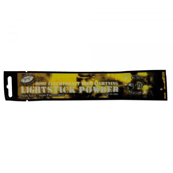 Barra fluorescente Mil-Tec Powder 48 horas amarilla