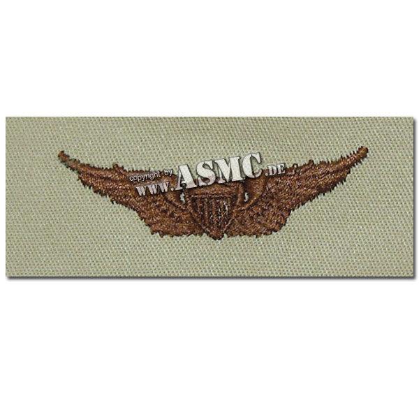 Insignia textil US Aviator desert