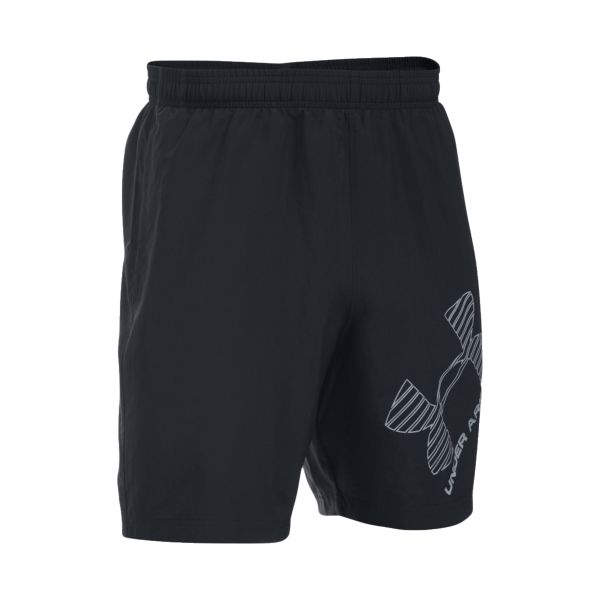 Short Under Armour Woven Graphic negro