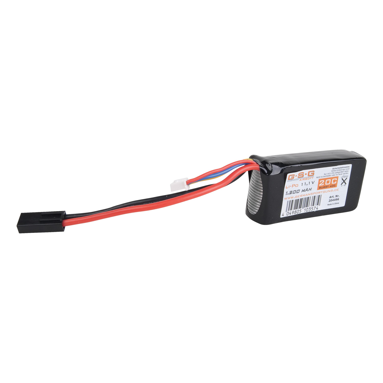 Batería GSG Li-Po 11.1V 1200 mAh Small Type