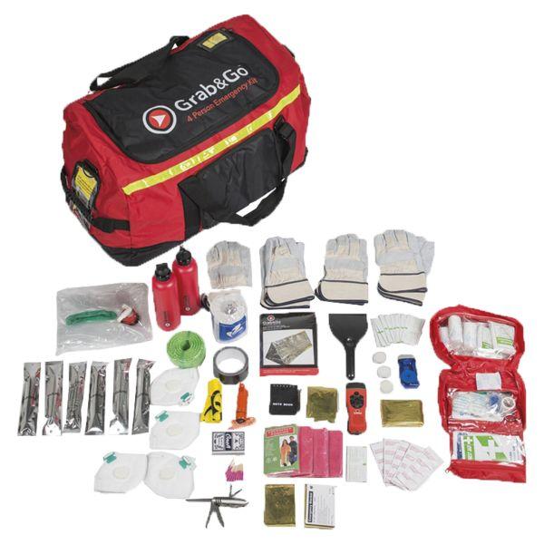 Equipo de emergencias Grab&Go 4 personas