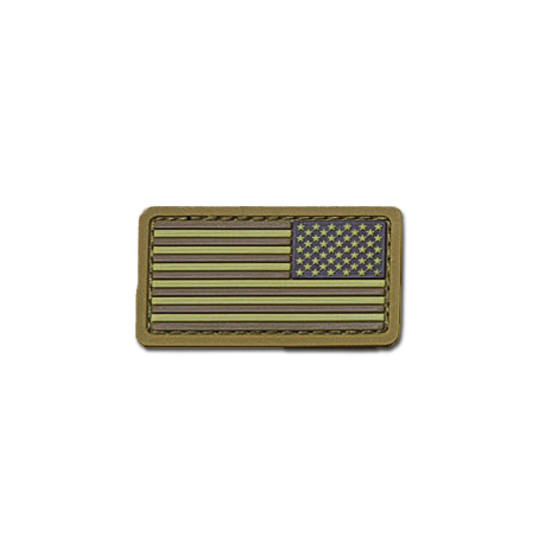 Parche MilSpecMonkey US Flag Mini REV PVC desert