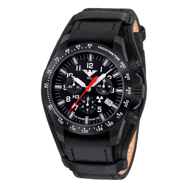 Reloj KHS Platoon Chronograph LDR Lederband G-Pad