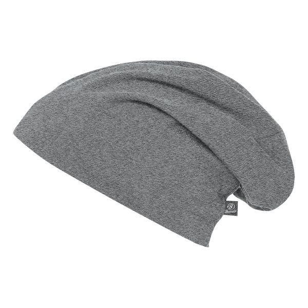 Gorra Brandit Beanie Jersey gris