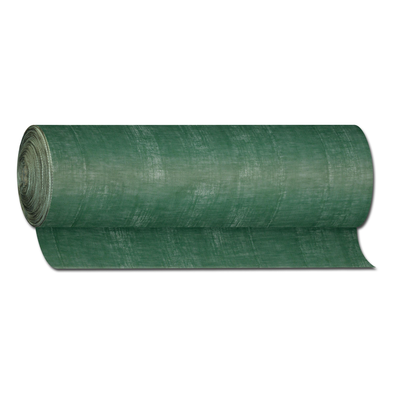 Tela de yute verde (por metro)