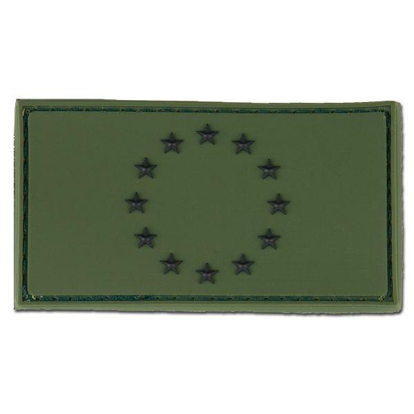 Parche 3D Bandera UE forest